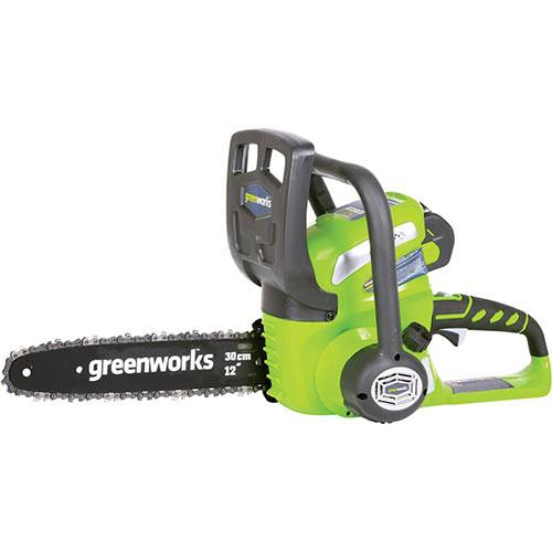 Greenworks 40v 30cm (12) Chainsaw with 2Ah Battery and Charger