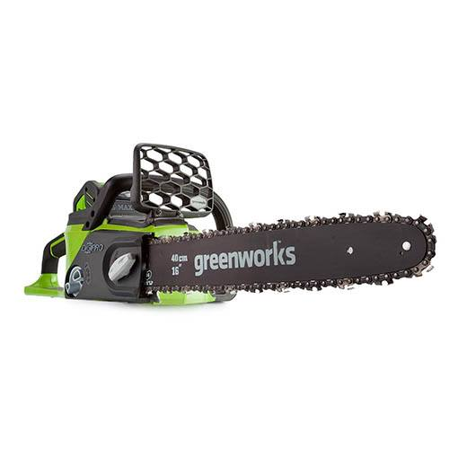Greenworks 40v Brushless 40cm (16) Chainsaw with Battery and Charger
