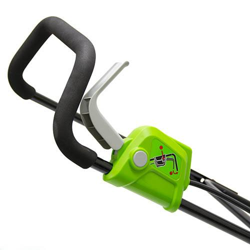 Greenworks 40v 35cm Walk Behind Mower with 2Ah Battery and Charger