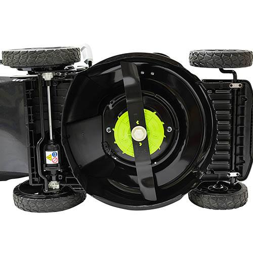 Greenworks 46cm 40v Walk Behind Mower Self Propelled with 2 x 2Ah Batteries and Charger