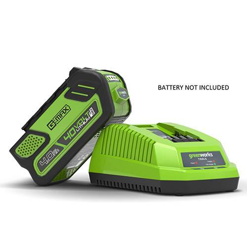 Greenworks 40V 2A Battery Charger