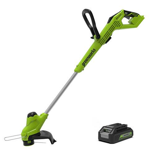 24V Line Trimmer with 2Ah Battery & Economy Charger