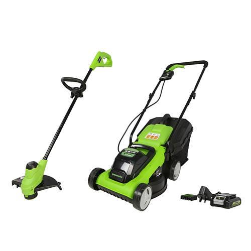 24V 33cm Lawn Mower +<FONT color=#ff0000>FREE</FONT> 24vLine Trimmer