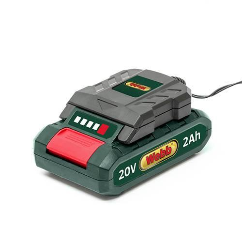 20V Cordless Tiller with Battery & Charger