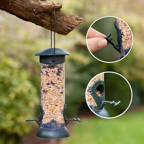 Prefilled Easy Fill & Clean Seed Feeder