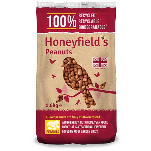 Honeyfields Peanuts 1.6kg
