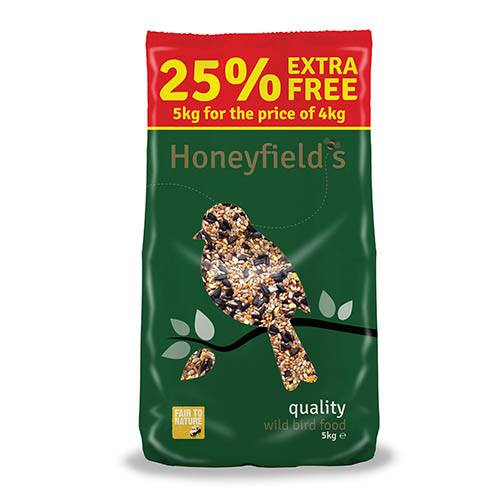 Honeyfields Quality Wild Bird Food 5kg