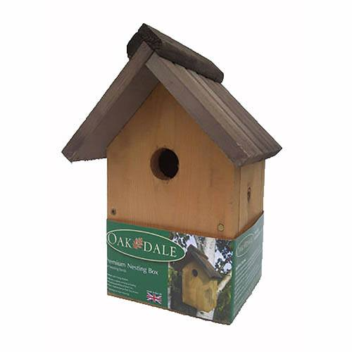 Open Front Nesting Box