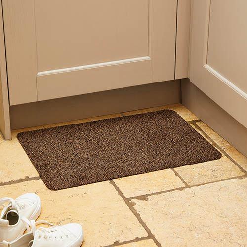 Mudstopper Washable Doormat-Brown