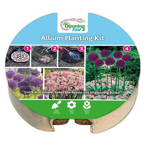 Blooming Fast XL Plant-o-Mat Allium Bulb Tray