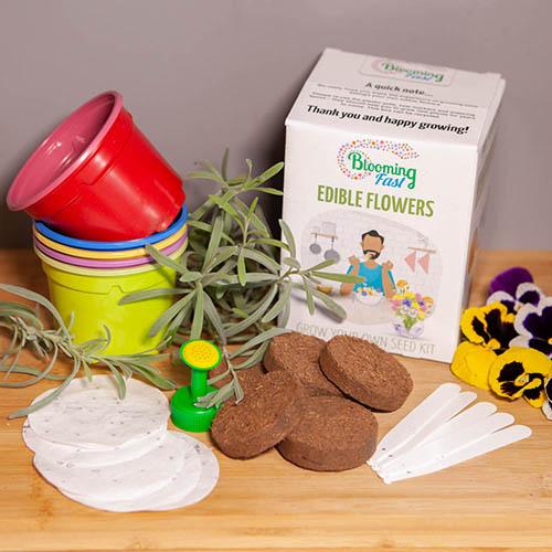 Edible Flowers Seed Kit