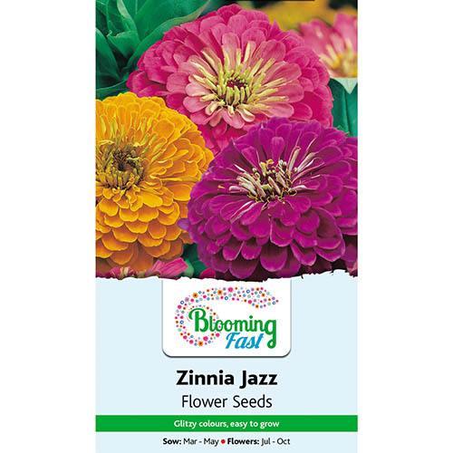 Zinnia Jazz Seeds
