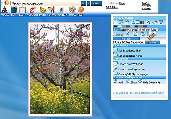 http://store.zcubes.com/35E61832E0574D0F9007B2C89F0CC7D6/Uploaded/ZoomInZSpace1.jpg