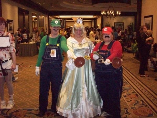 Luigi, Mario, Princess, AFO 200