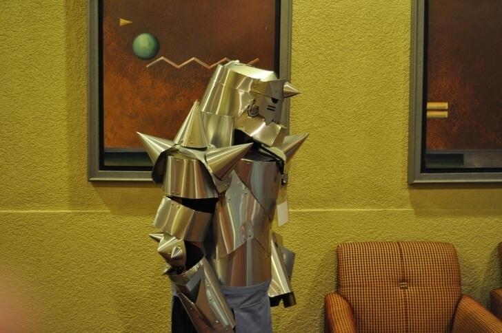Alphone Elric Alphone in Armor