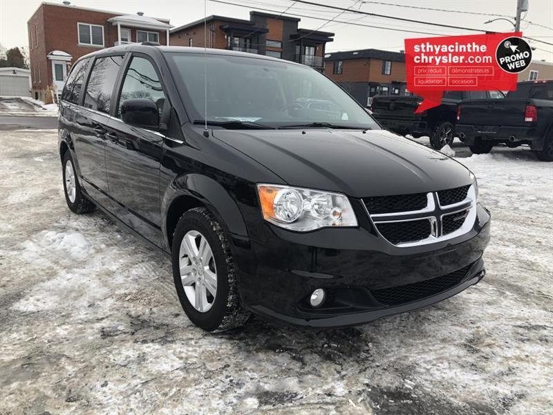 2018 Dodge  Caravan Crew Plus | GPS | Porte a ouve