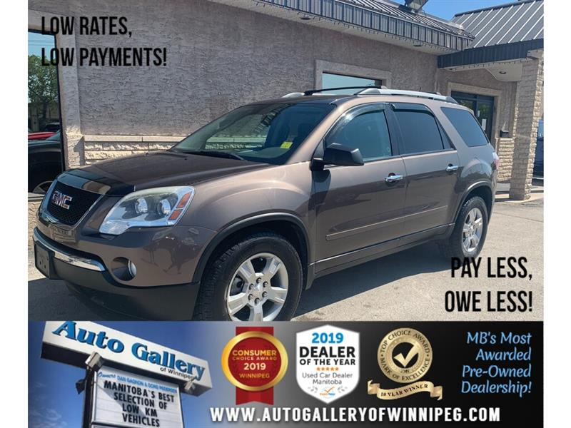 Used Gmc Acadia Vehicles For Sale In Manitoba Second Hand Gmc
