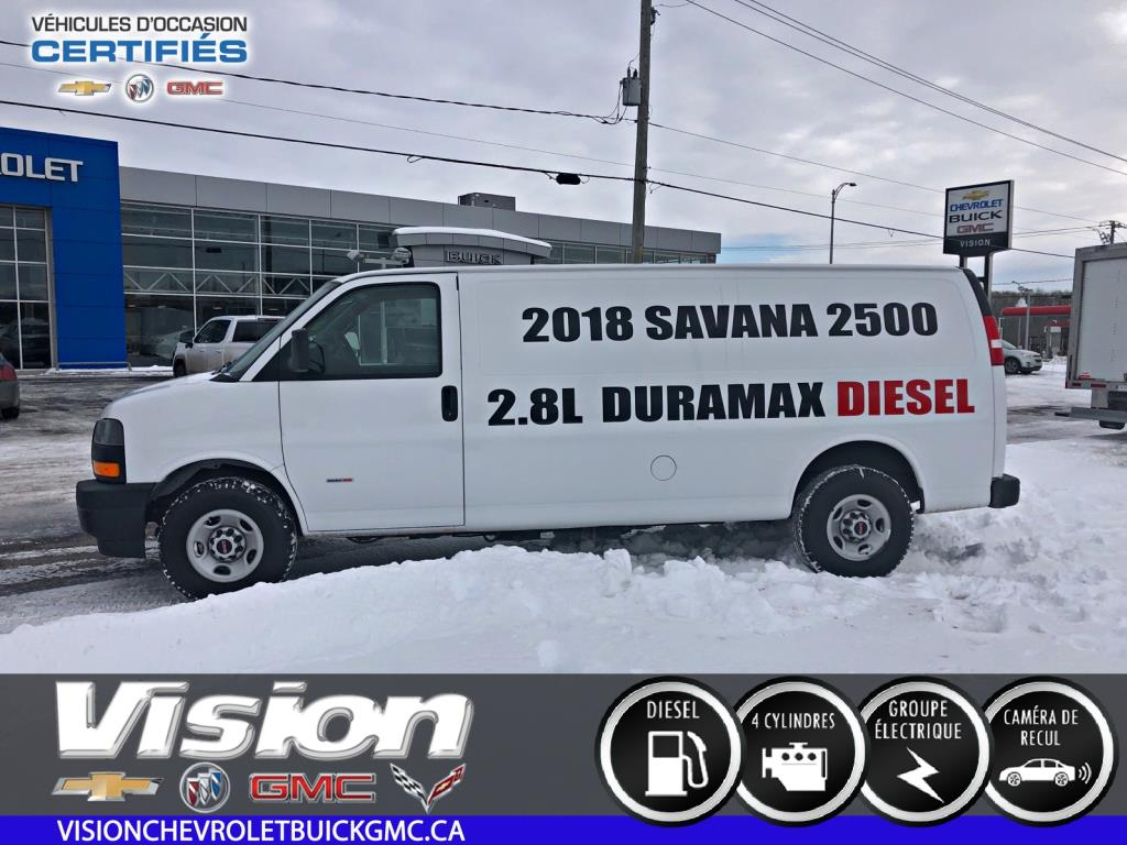 2018 GMC Savana