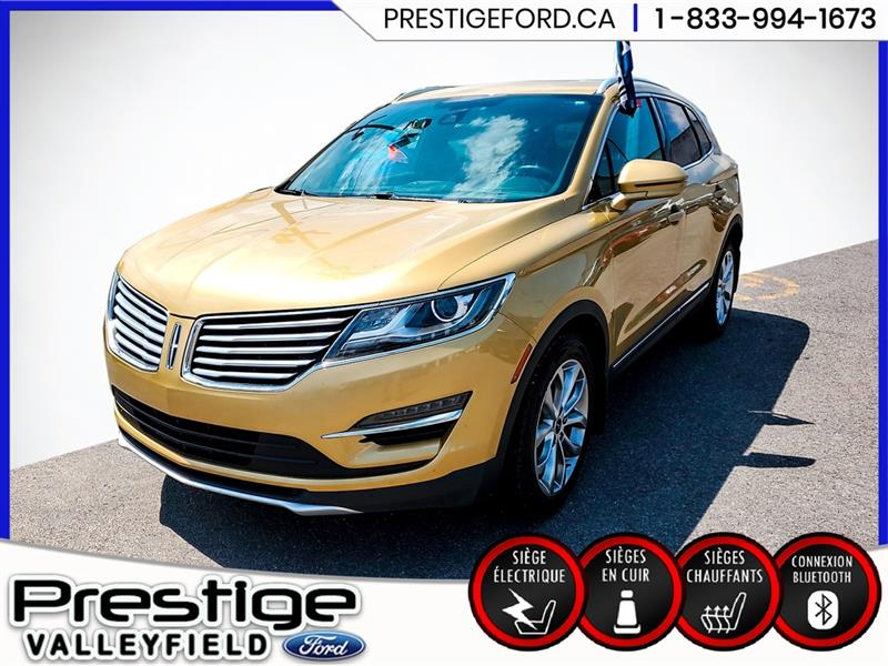 2015 Lincoln  MKC AWD 4dr, Toit Panoramique, GPS