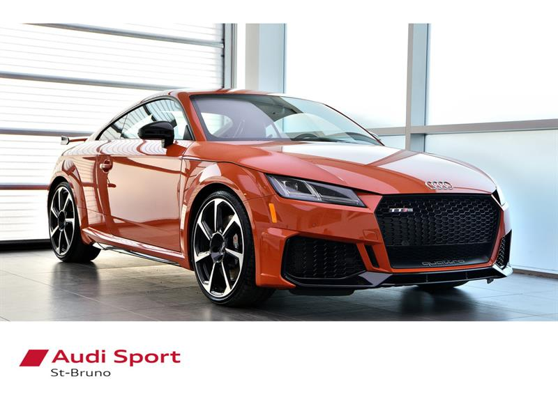 Audi TT RS Coupe BLACK OPTICS + SPORT EXHAUST + 2019