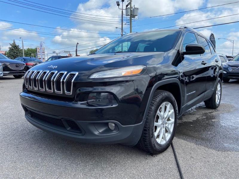 2015 Jeep  Cherokee North, 4X4, A/C BIZONE, BLUETO