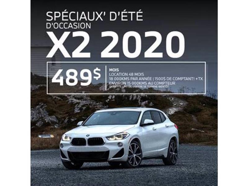 BMW X2 xDrive28i PROMO!! 489$+ TAXES! 2020