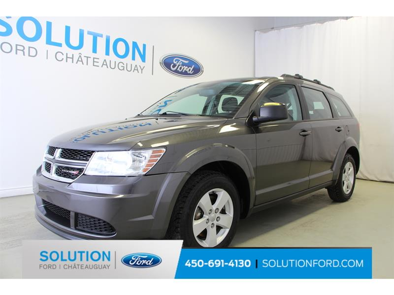 2015 Dodge  Journey + 7 PASSAGERS + 4 CYLINDRES +