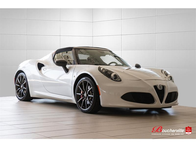 Alfa romeo 4C Spider * FULL * CARBON PKG * EXHAUST  2018