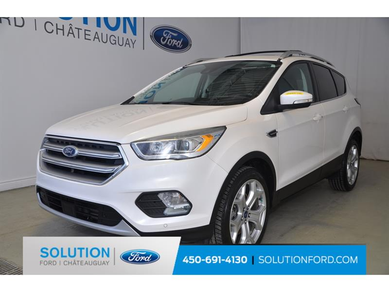 2017 Ford  Escape CRUISE ADAPT + TECH PKG + PANO
