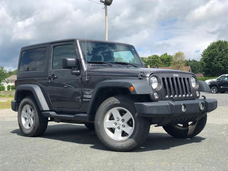 2018 Jeep  Wrangler Sport 4x4 TOIT A/C MAGS