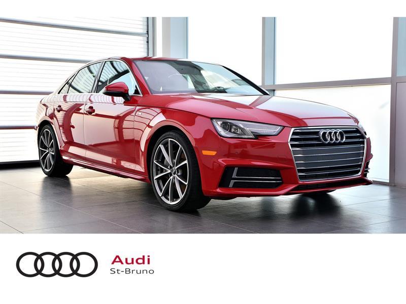 Audi A4 PROGRESSIV + S-LINE + ROUGE TA 2017