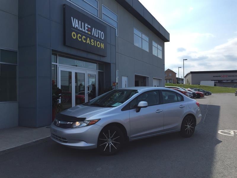 2012 Honda  Civic 4dr Man LX