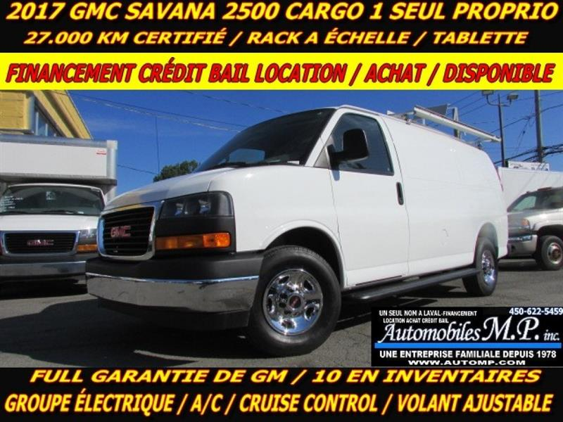 2017 GMC Savana