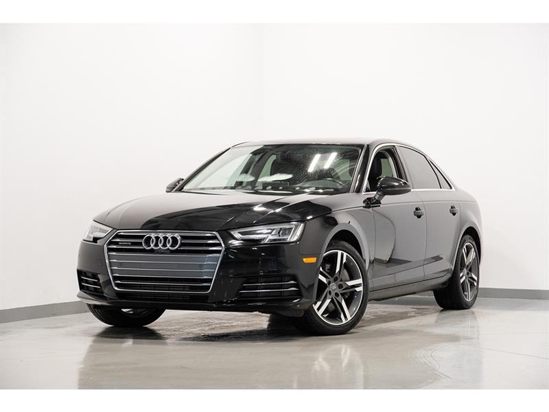 Audi A4 Technik quattro GPS 2.0T 2017