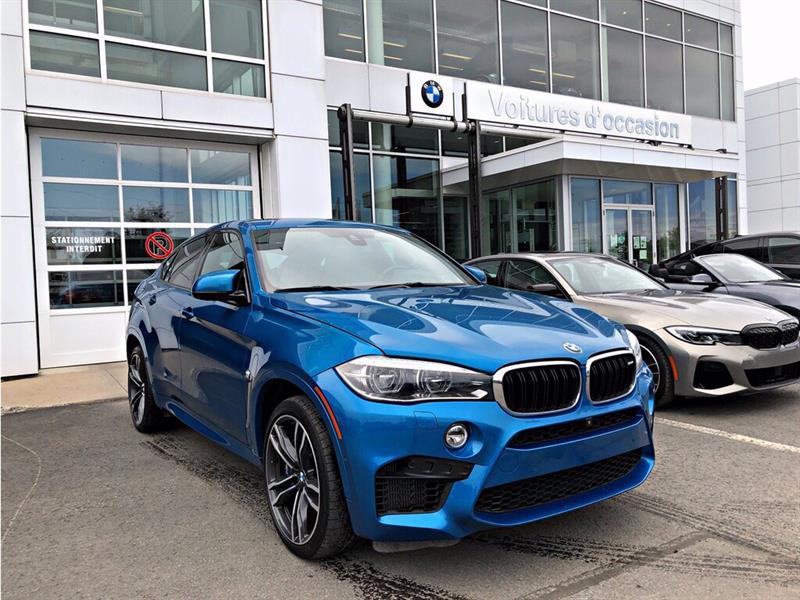 BMW X6 M Long beach blue! 2017