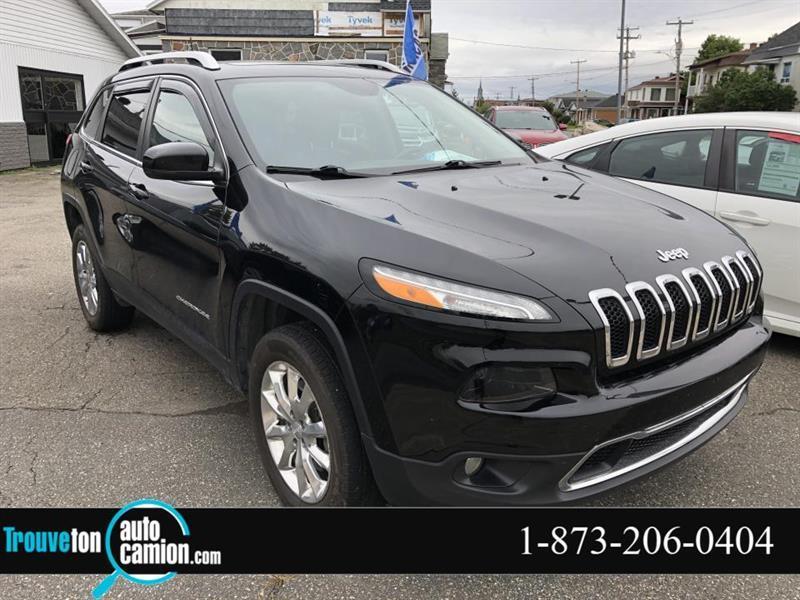 2017 Jeep  Cherokee 4 RM, Limited