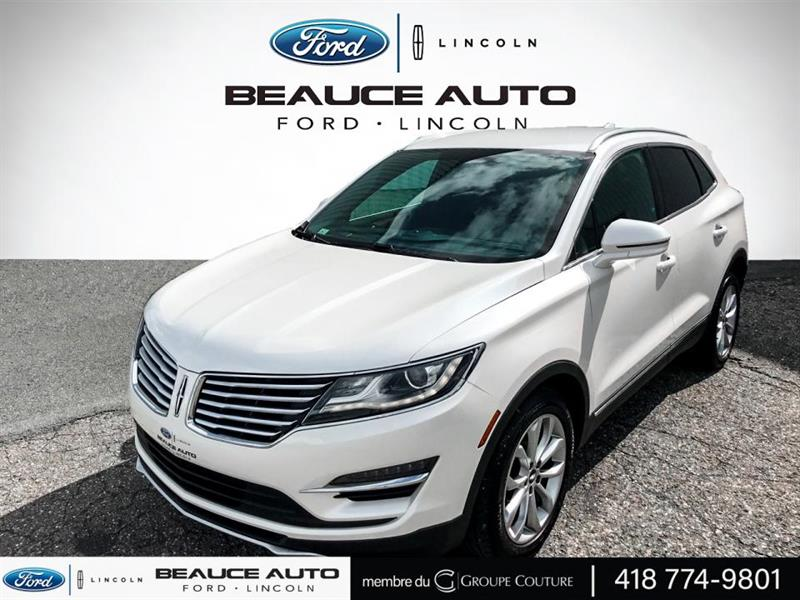 2015 Lincoln  MKC AWD + CUIR + NAVY + CUIR