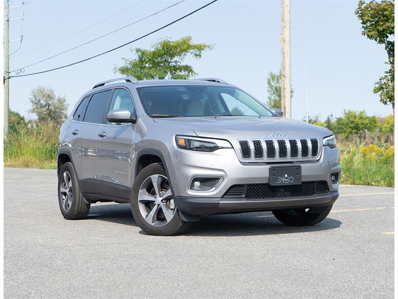 2019 Jeep  Cherokee LIMITED * V6 * 4X4 * CRUISE AD
