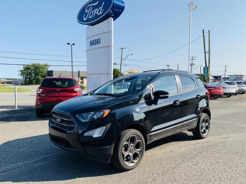 2018 Ford  EcoSport SES 4RM GPS TOIT OUVRANT SIÈGE