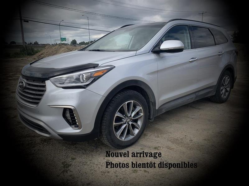2017 Hyundai  Santa Fe XL Luxury 6 places  TI GPS TOIT O