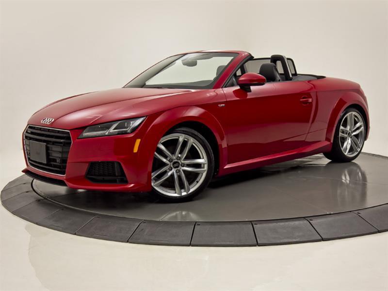 2017 Audi  TT QUATTRO 2.0 CONVERTIBLE CUIR