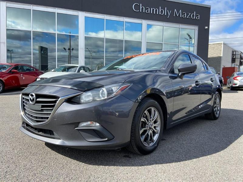 Mazda Mazda3 Sport GX, A/C, GROUPE ELECTRIQUE, BL 2015