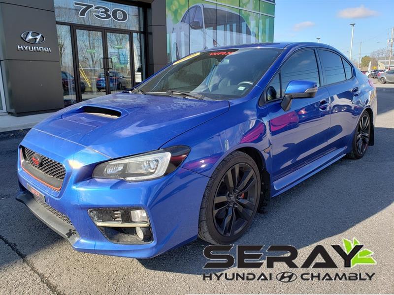 2016 Subaru  WRX 4dr Sdn Man w-Sport-tech Pkg