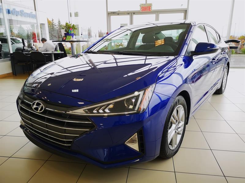 2020 Hyundai  Elantra Elantra Preferred Démo Bleu In
