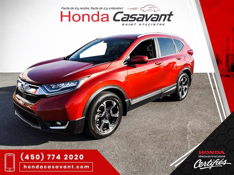 Honda CR-V TOURING AWD **TOIT OUV+CARPLAY 2017