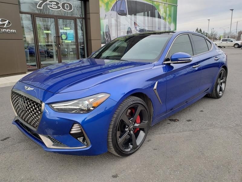 2020 Genesis  G70 3.3T Sport AWD, NAVIGATION, CA