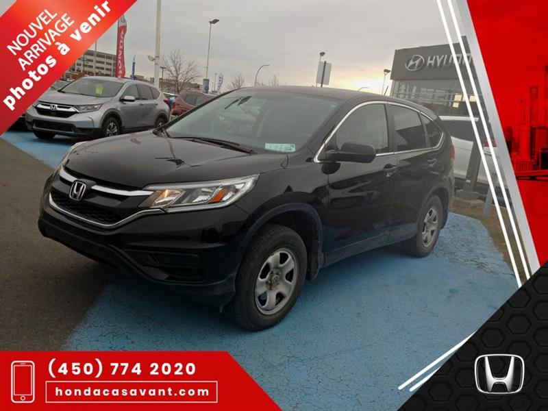 2016 Honda  CR-V LX AWD **SIEGES CHAUFF+CRUISE+