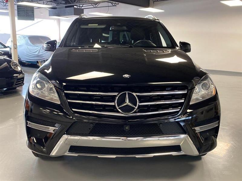 2014 Mercedes-Benz  M-Class ML350BT-NAVIGATION-VRAI CUIR-D