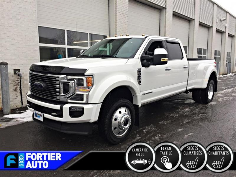 Ford F-450 Platinum cabine 6 places 4RM c 2020