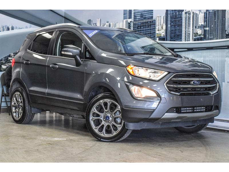 Ford EcoSport TITANIUM   2.0L AWD, NAV, SYNC 2018